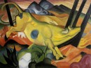 Yellow Cow, Franz Marc