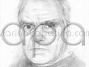 Desen – Portret de barbat
