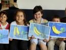 Marina impreuna cu elevii 130x98 Invatam arta