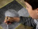 Columb studiu sfera 130x98 Meditatii de pictura si desen