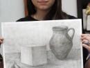 Grup Meditatii Admitere Tonitza Desen Creion Ceapa Cub Ulcior Alexandra. 130x98 Meditatii de pictura si desen