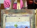 Grup Meditatii Admitere Tonitza Pictura Tempera La Mare Liana. 130x98 Meditatii de pictura si desen