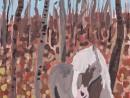 Toamna in padure Alexia 9 ani 130x98 Meditatii de pictura si desen