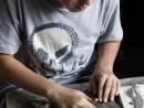 Atelier modelaj grup 10 14 ani Columb crearea placii 130x98 Atelier Meditatii modelaj (admitere Tonitza si universitate)