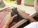 Grup 10 14 ani Modelaj Lut Maimuta Sara 130x98 Atelier modelaj