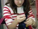 Grup 10 14 ani Modelaj Lut Pisica Ilinca 130x98 Atelier modelaj