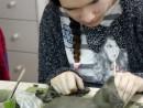 Grup 10 14 ani Modelaj Lut Pisica Irina 130x98 Atelier modelaj
