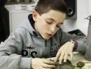 Grup 10 14 ani Modelaj Lut Reproducere element decorativ frunza Henri 130x98 Atelier modelaj