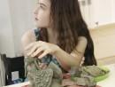 Grup 10 14 ani Modelaj Lut Sfinx Ilinca 130x98 Atelier modelaj