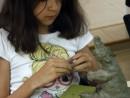 Grup 10 14 ani Modelaj Lut Urs Ema 130x98 Atelier modelaj