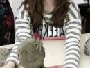Grup 10 14 ani Modelaj Lut Zana Primaverii Ilinca 130x98 Atelier modelaj