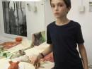 Grup 10 14 ani Modelaj Pasta Ceramica Pisica Henri 130x98 Atelier modelaj