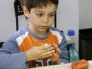 Grup 4 6 ani Modelaj Ceramica Suport Raul. 130x98 Atelier modelaj