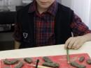 Grup 4 6 ani Modelaj Lut Broasca Testoasa Sebastian. 130x98 Atelier modelaj