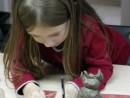 Grup 4 6 ani Modelaj Lut Bufnita Vanessa. 130x98 Atelier modelaj