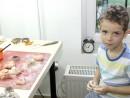 Grup 4 6 ani Modelaj Pasta Ceramica Broasca Ioan 130x98 Atelier modelaj