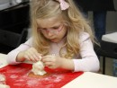 Grup 5 8 ani Modelaj ceramica Iepure Isabela 130x98 Atelier modelaj