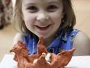 Grup 5 8 ani Modelaj ceramica Suport ou Kira 130x98 Atelier modelaj