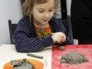 Grup 5 8 ani Modelaj lut Broasca testoasa Kira 130x98 Atelier modelaj