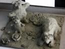 Grup 5 8 ani Modelaj lut Ursi Isabela 130x98 Atelier modelaj