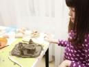 Grup 5 8 ani modelaj lut Curte Mali 130x98 Atelier modelaj