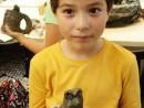 Grup 6 8 ani Bufnita Modelaj in lut Filip 130x98 Atelier modelaj