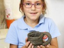 Grup 6 8 ani Cana Modelaj in lut Cristiana 130x98 Atelier modelaj