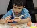 Grup 6 8 ani Modelaj Ceramica Iepure Teodor. 130x98 Atelier modelaj