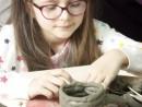 Grup 6 8 ani Modelaj Lut Cana Denisa 130x98 Atelier modelaj