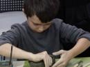 Grup 6 8 ani Modelaj Lut Cana Teodor. 130x98 Atelier modelaj