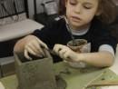 Grup 6 8 ani Modelaj Lut Casa Daria 130x98 Atelier modelaj