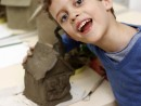 Grup 6 8 ani Modelaj Lut Casa Eduard 130x98 Atelier modelaj