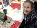 Grup 6 8 ani Modelaj Lut Casa Tatiana. 130x98 Atelier modelaj