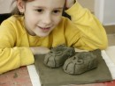 Grup 6 8 ani Modelaj Lut Pantofi Vanessa 130x98 Atelier modelaj