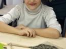 Grup 6 8 ani Modelaj Lut Panza de Paianjen Tatiana. 130x98 Atelier modelaj