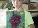 Grup 6 8 ani Modelaj Plastilina Ciorchine de strugure Ioan 130x98 Atelier modelaj