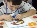 Grup 6 8 ani Modelaj Plastilina Cos cu Fructe Teodor. 130x98 Atelier modelaj