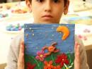 Grup 6 8 ani Modelaj in plastilina Camp cu flori David 130x98 Atelier modelaj