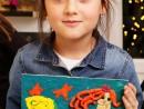 Grup 6 8 ani Modelaj in plastilina Sirena Ioana 130x98 Atelier modelaj