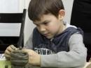 Grup 6 8 ani Modelaj lut Cana Andrei 130x98 Atelier modelaj