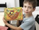 Grup 6 8 ani Modelaj plastilina Cos cu fructe Leonard 130x98 Atelier modelaj