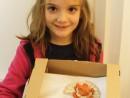 Grup 6 8 ani Suport de oua puisori cu frunze si nuferi Modelaj in Keraplast Sonia 130x98 Atelier modelaj