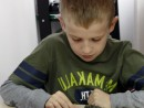 Grup 8 10 ani Modelaj Lut Arici Pavel. 130x98 Atelier modelaj