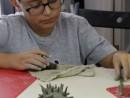 Grup 8 10 ani Modelaj Lut Arici Rares. 130x98 Atelier modelaj