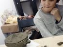 Grup 8 10 ani Modelaj Lut Cana Calin. 130x98 Atelier modelaj