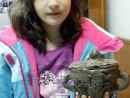 Grup 8 10 ani Modelaj Lut Cana Ilinca. 130x98 Atelier modelaj