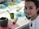 Grup 8 10 ani Modelaj Lut Cana Leen. 130x98 Atelier modelaj
