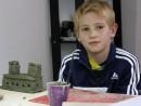 Grup 8 10 ani Modelaj Lut Casa Pavel. 130x98 Atelier modelaj