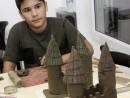 Grup 8 10 ani Modelaj Lut Castel Andrei 130x98 Atelier modelaj
