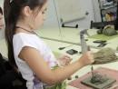 Grup 8 10 ani Modelaj Lut Conuri de Brad Anisia 130x98 Atelier modelaj
